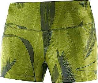 Salomon 萨洛蒙 女式紧身跑步短裤,AGILE TIGHT,运动衫
