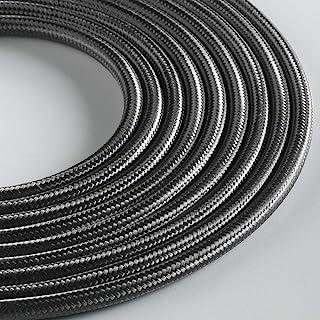 Klartext - 光圆形纺织电缆用于照明,3 x 0.75 毫米,铁灰色,5 米。 *大防震*!