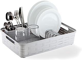 SMART-T-HAUS 盘子,塑料,白色,小号