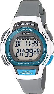 Casio 卡西欧 女款 Runner 系列石英运动手表 树脂表带 黑色 19.3 (型号:LWS-1000H-8AVCF)