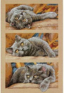 Dimensions Needlecrafts Counted Cross Stitch, Max The Cat