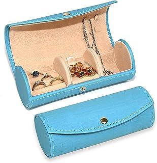 Neateam 旅行珠宝收纳包 便携式首饰盒 旅行首饰卷 戒指、耳环、胸针、送给母亲、女友、妻子的*佳礼物