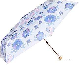 [estaa] 迷你伞【UV】水彩花纹