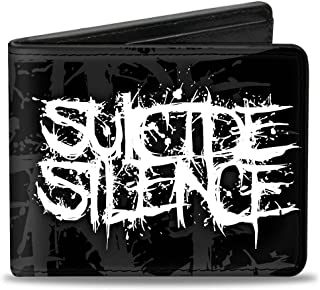 buckle-down 钱包 suicide Silence splatter 双黑色/灰色/白色配件 多色 One Size