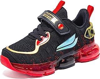 BIG WASP 儿童空气网球跑步鞋运动慢跑运动轻质透气运动鞋