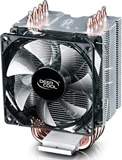 DEEPCOOL GAMMAXX C40 CPU 冷却器,4 个热管,92 毫米 PWM 风扇,紧凑散热器,小号,适用于英特尔 / AMD CPU(兼容AM4)