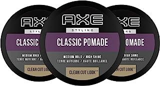 AXE Clean Cut Look Hair Pomade,经典7.64 盎司,2 只装 整洁造型发蜡 2.64 oz, Pack of 3