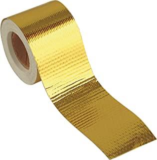 Design Engineering 010394 Reflect-A-GOLD 高温热反射胶背带,1.5 英寸 x 15 英尺卷