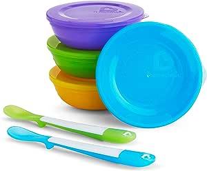 Munchkin 满趣健 Love-a-Bowls 10件套喂食餐具