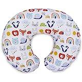 Boppy 原创枕套,彩色动物和彩虹,棉混纺面料,全身时尚,适合所有哺乳枕和定位器