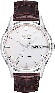 Tissot Heritage Visodate Automatic - T0194301603101TIST0194301603101  analog 皮革 棕色 TIST0194301603101 watches