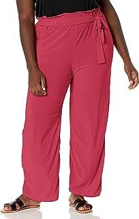 Star Vixen 女式阔腿裤,紫红色,M 码