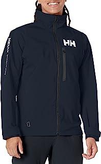 Helly Hansen 男式 Hp Racing 防风透气羊毛领海洋运动帆船防水夹克