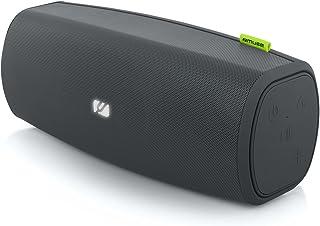 Muse M-910 BT 便携式蓝牙扬声器,带免提装置(NFC,防溅 IPX-4,流媒体Apple iPhone,平板电脑,AUX-In)黑色