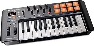 M-Audio Oxygen 25 IV – USB 键盘和垫 MIDI 控制器带触摸动态按钮,VIP 3.0,Ableton Live Lite,SONiVOX Twist,Xpand2