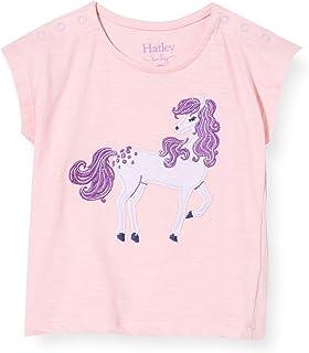 Hatley 婴儿女童短袖 T 恤