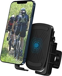B-Land 自行车手机支架支架 - 摩托车车把手机夹,金属自行车手机支架,兼容 iPhone 12 Pro Max,Galaxy S9 和 4.7 英寸 - 7 英寸手机