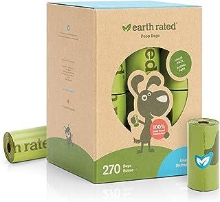 Earth Rated 狗粪袋 270 可生物降解的无香水狗粪袋