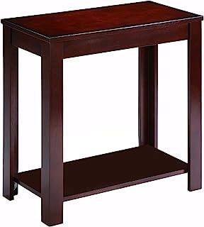 Benzara Pierce 椅边棕色桌,均码