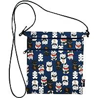 MAEDA SENKO 和布日和 木糖日式花纹 二段F付小挎包 (带拉链) 311-33002-001