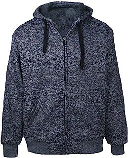 Gary Com Active 抓绒连帽衫男式重量级全拉链长袖羊羔绒内衬夹克