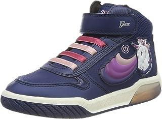 Geox 健乐士 J Inek Girl B 女童高帮运动鞋