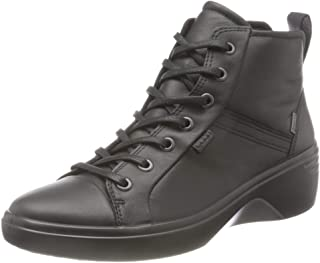 ECCO 爱步 女士 Soft7 坡跟 W 及踝靴