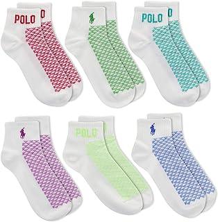 Polo Ralph Lauren Ankle Sport Socks 6-Pack