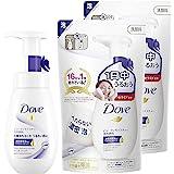 【日本亚马逊限定】Dove 多芬 美容保湿泡沫洁面乳+替换装 160ml+140ml×2个 + 赠品