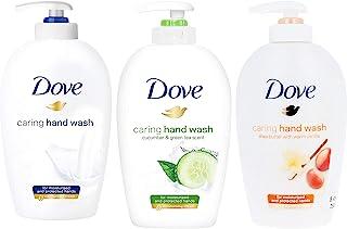 Dove 多芬混合装手洗 - 乳木果油含温暖香草,深层滋养和黄瓜和绿茶,8.4 盎司(约 239.6 克)