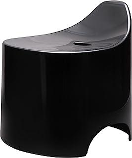 新卡特克 浴室椅 Duro 浴室凳 N 黑色 約幅33×奥行34.5×高さ36cm -