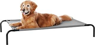 Amazon Basics 高架降温宠物床,大号(51 x 31 x 8英寸,约129.54×78.74×20.32cm),灰色