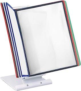 Leviatan 桌面可视板系统,可视板桌面支架,可视面板支架 + 10 个可视板多色