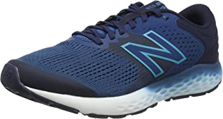 New Balance 男式 520v7 Road 跑步鞋 蓝色 11.5 UK X-Wide