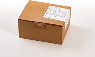 HERMA 6820 带孔眼的商品挂坠(40 x 50 毫米,小,线长约 8 厘米)挂牌由纸板制成,可用于标记,1000 张价格标签,白色