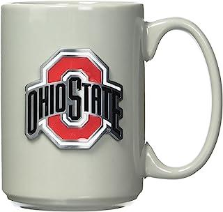 Great American Products NCAA 俄亥俄州七叶树咖啡杯,均码,灰色