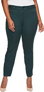 NYDJ 女士加大码 AMI 紧身打底裤牛仔裤超 sculpting DENIM