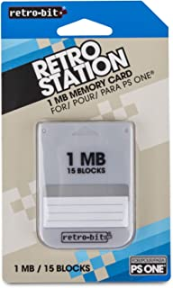 Retro-Bit PS1 - 存储卡 - 1MB - PlayStation