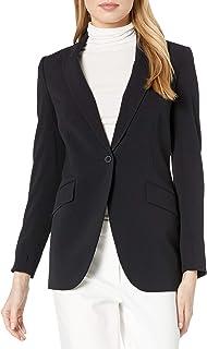 Anne Klein 女士长单扣夹克