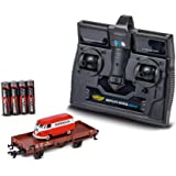 CARSON 1:87 H0 VW Bus T1 Märklin 带下游车 - 遥控车 - 可行驶的型号 - 带 LED…