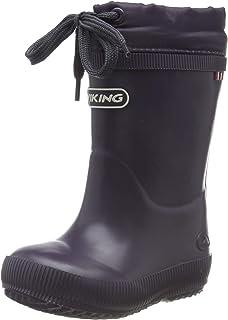viking 女童 Classic Indie Warm Wool 橡胶靴