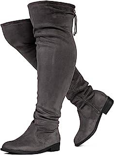 RF ROOM OF FASHION 维也纳宽小腿弹力过膝马靴(宽)