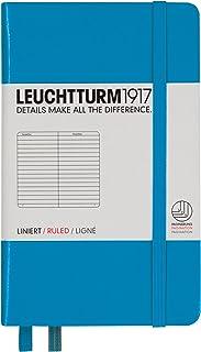 LEUCHTTURM1917 灯塔口袋型横格笔记本天蓝色硬封皮(A6)