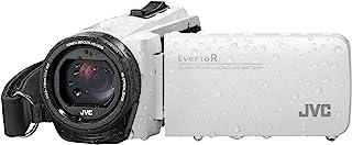 JVC GZ-R495 HD 四校对 40x 变焦便携式摄像机JVC806 CAMCORDER Camcorder 白色