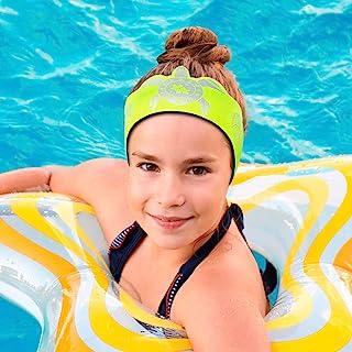 Will & Fox 游泳护耳带适合幼儿和婴儿,带耳塞 ~ 免费切割耳塞 ~ #1 头带 ENT *推荐 ~ 将塞固定在原位并耳朵干燥 ~ 多种款式!