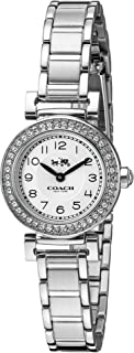 Coach 蔻驰女式 14502402 麦迪逊银色不锈钢水晶闪耀手表