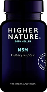 Higher Nature MSM Sulphur Pack of 180