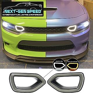 Dodge Charger SRT 格栅烟熏 LED 照明套件 2015 + Scat Pack 风格格栅烟熏 LED 照明套件 2015 + Scat Pack 风格 2016 2017 2018 2019 2020 2021 照明日间运行组...