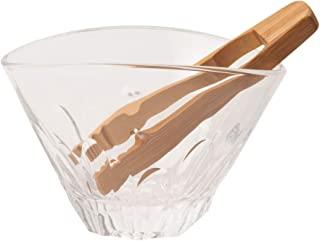 东洋佐佐木玻璃 冰箱 正宗烧酒道乐 Ekube 约17.6×12.9×11.5厘米 冰桶 日本制造 可用洗碗机 P-33602-JAN