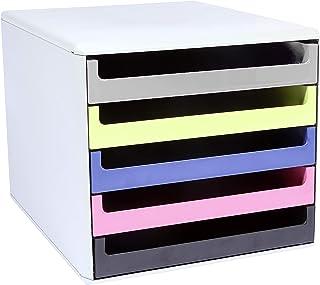 Metzger & Mendle 30050973BE 抽屉盒,带 5 个抽屉再生认证的蓝色天使各种颜色